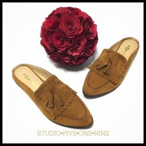 Jolimall • Suede Mule • In Cocoa